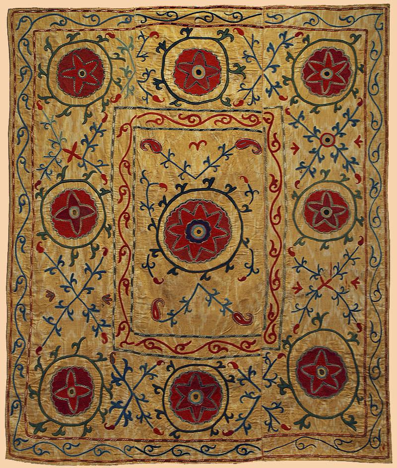18th Century Antique European Graphic Antique Spanish Textiles ...