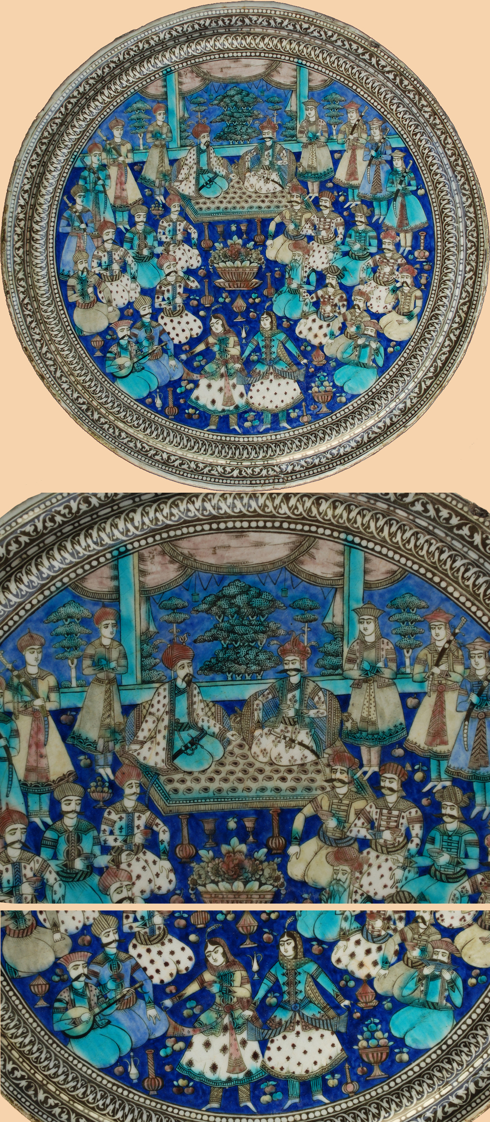 1000 Images About Persian Ceramics Tile On Pinterest